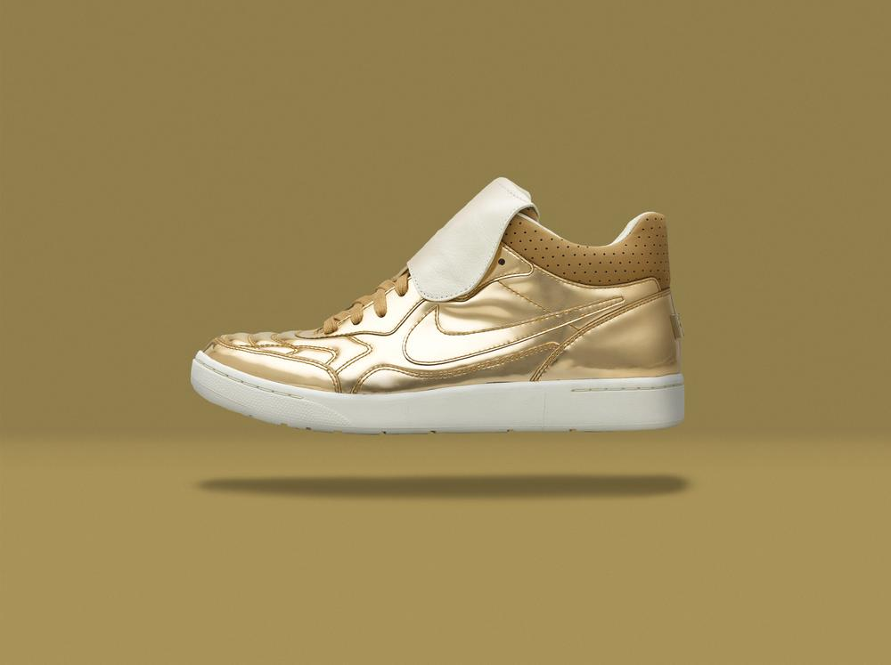 NikeLab presents the Nike Tiempo 94 Mid in All-Gold