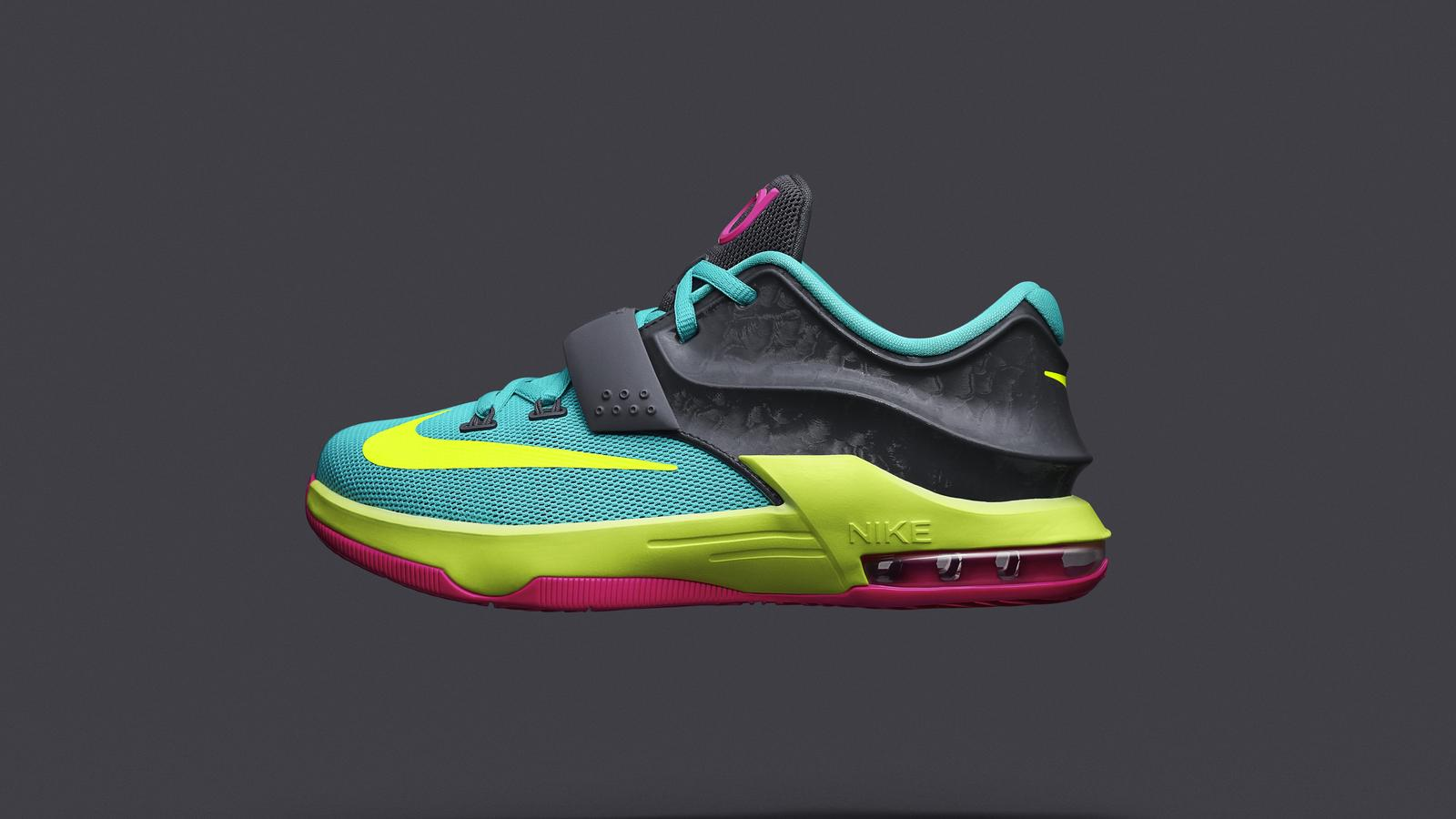 size 40 24874 165aa Nike Unveils KD7 Carnival for Young Basketball Athletes - Nike News