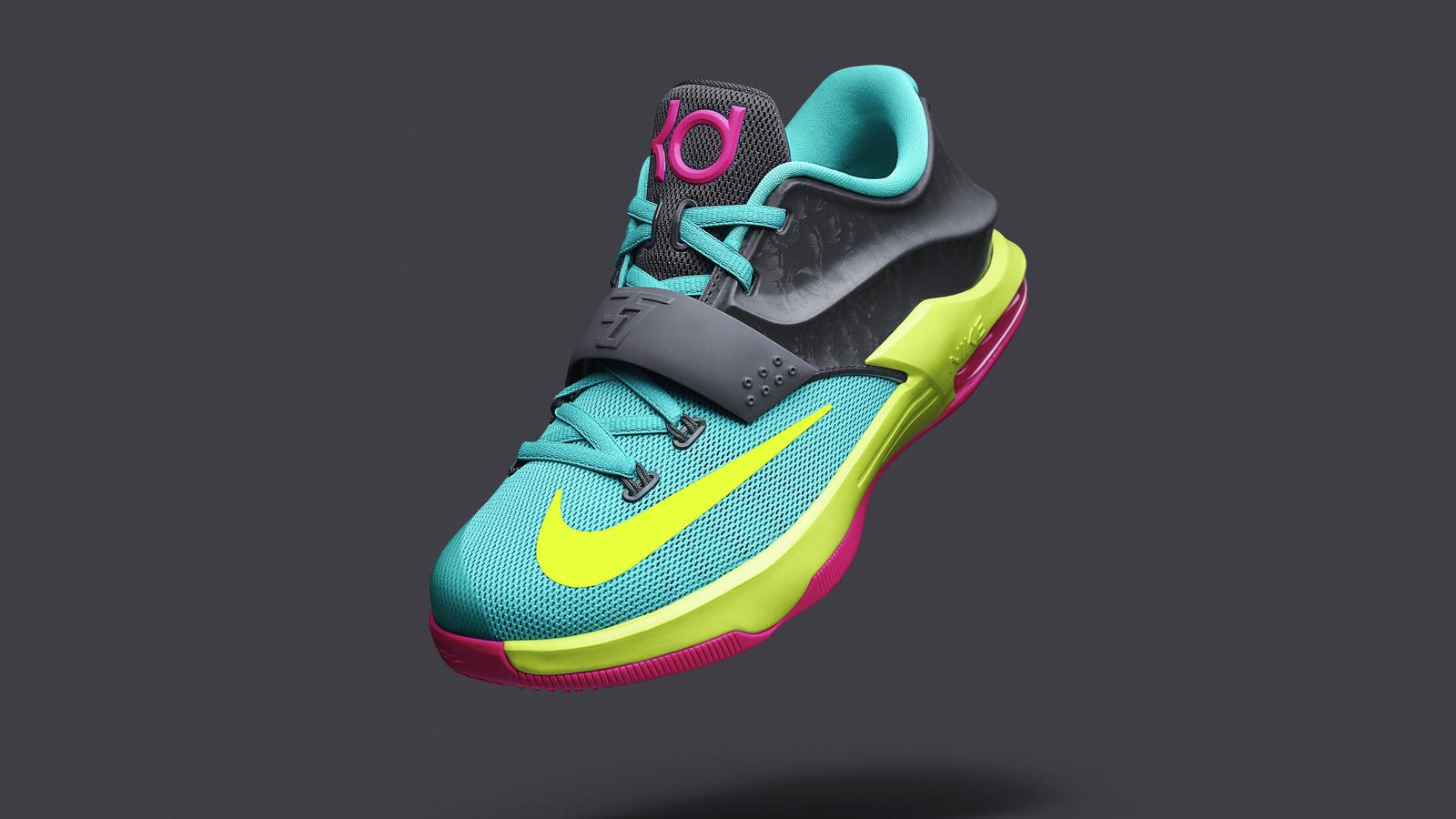 size 40 34a7e 18834 Nike Unveils KD7 Carnival for Young Basketball Athletes - Nike News