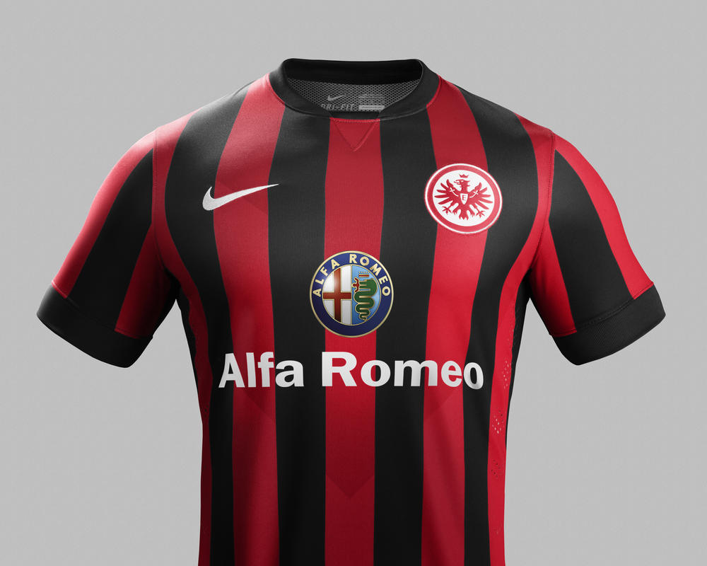 Eintracht Frankfurt and Nike Unveil New Home and Away Kits for 2014-15 Season