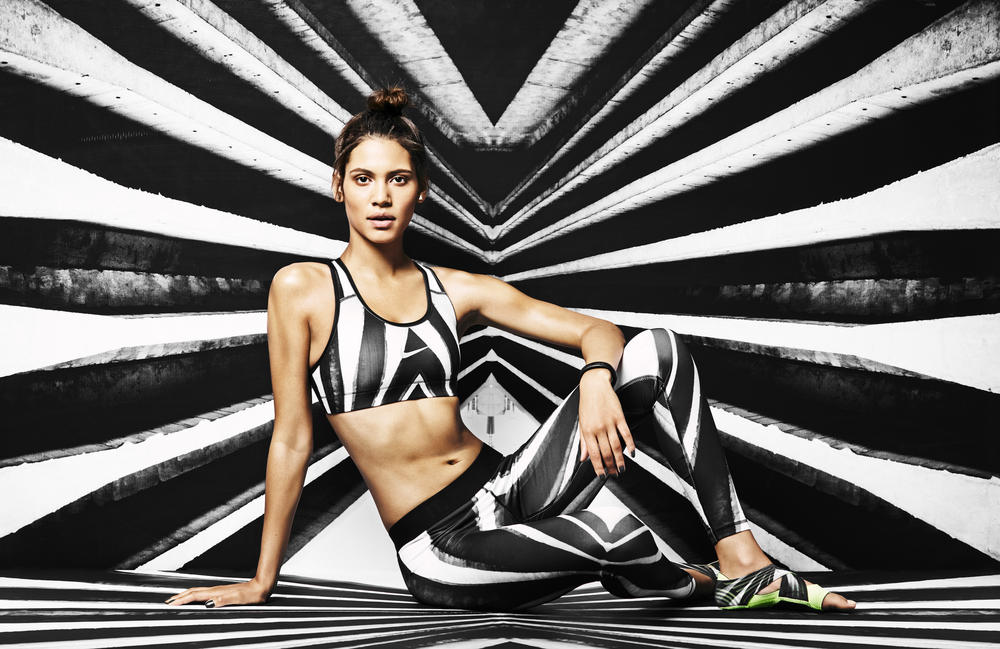 Worlds Collide: The Nike Tight of the Moment by Flavio and Jayelle