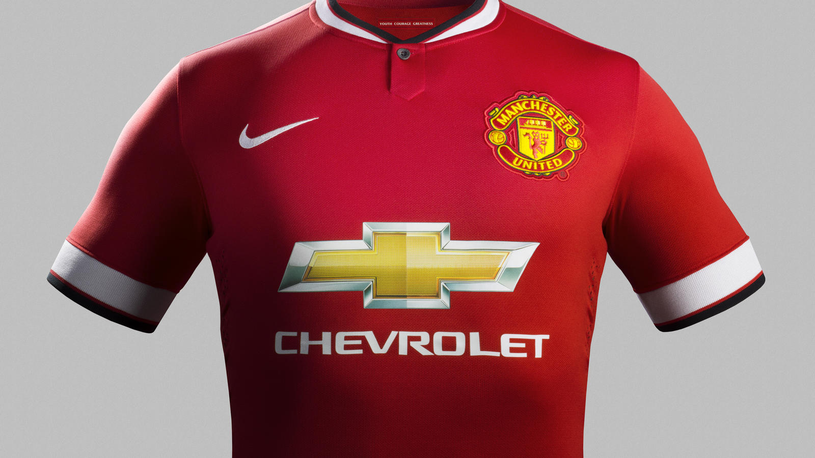 sports shoes 8e1f3 dc207 Nike and Manchester United Unveil Home Kit for 2014-15 ...