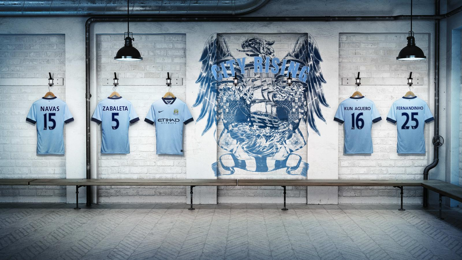 Manchester City Home Kit - Changing Room