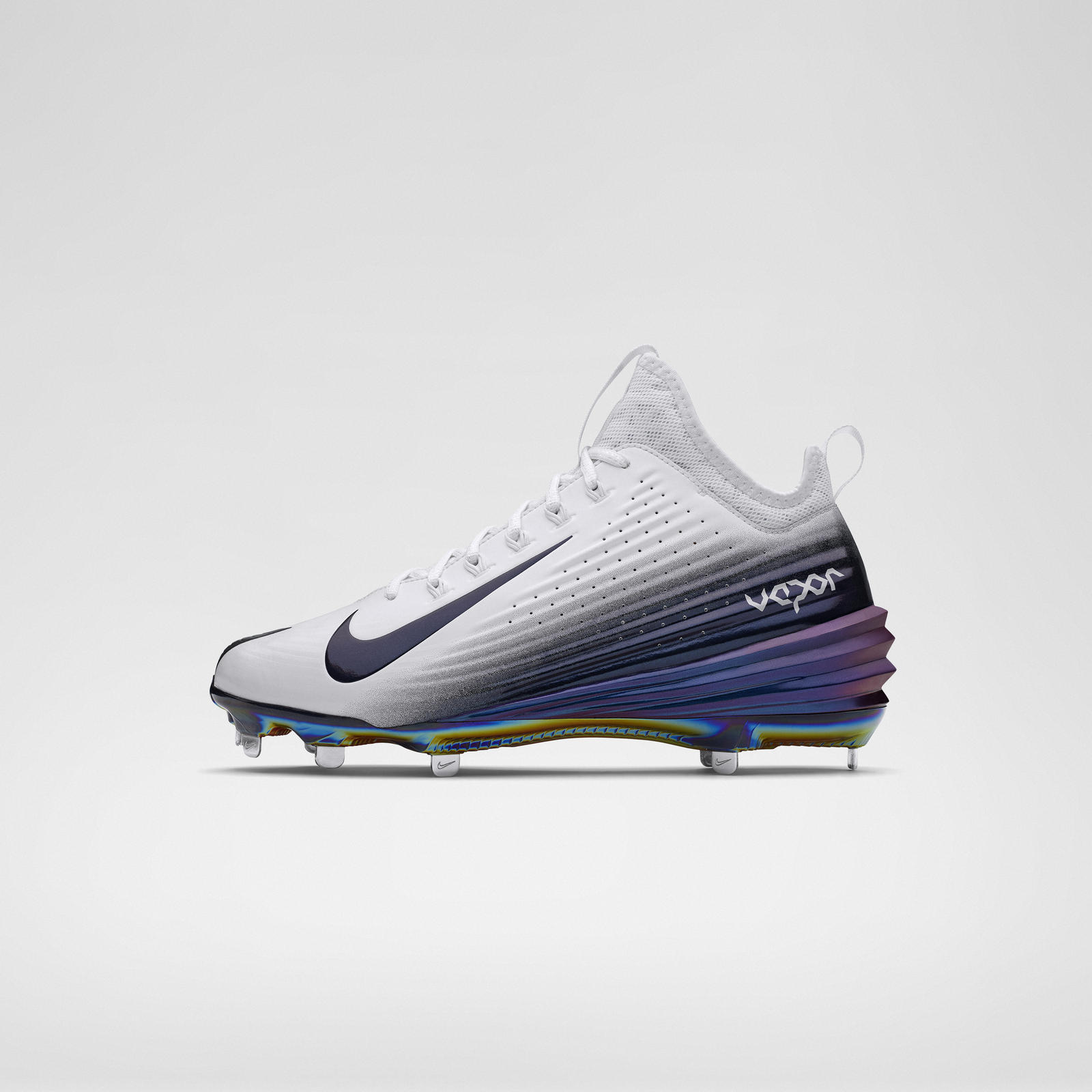 new concept ee640 d00f2 Mobile Gallery Image ... New Nike Lunar Vapor Mike Trout Metal Baseball  Cleats Black ...