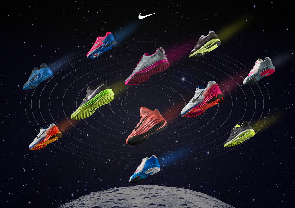 Cheating Gravity; Nike Lunarlon Delivers Out-of-this-World Cushioning