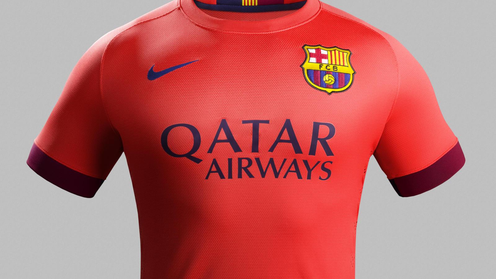 d1a9f0c15f Nike e FC Barcelona lançam segundo uniforme para a temporada 2014-15 ...