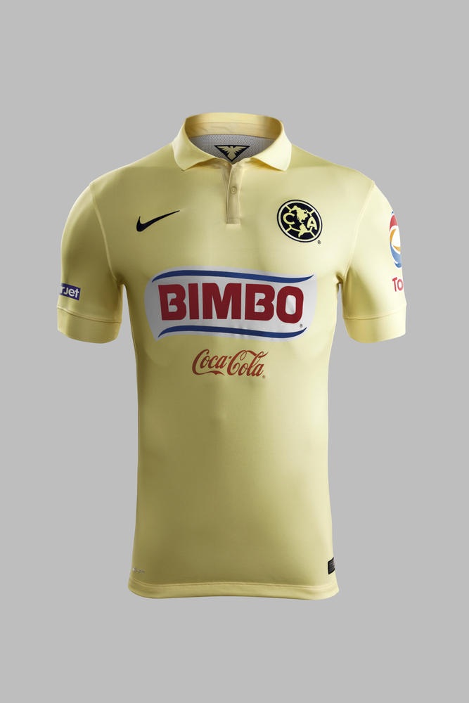 Nike and Club America Unveil Home and Away Kits for the 2014-15 Season 2cf2930b3341d