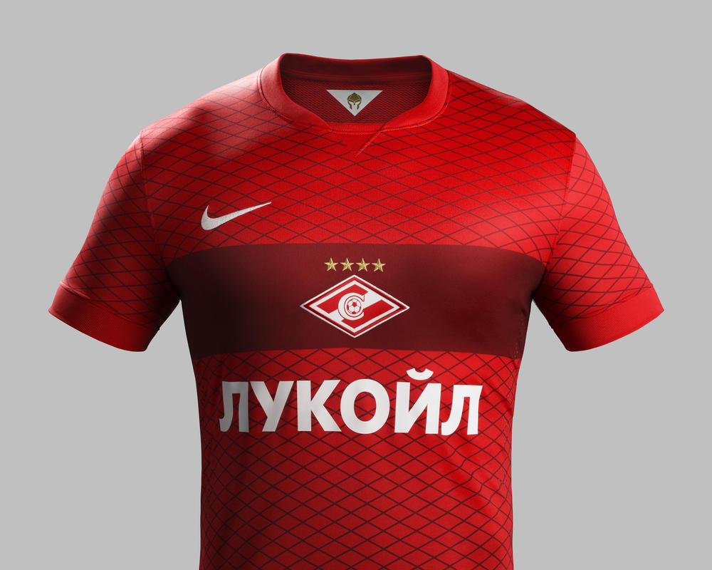 Spartak Moscow and Nike Unveil the New Home and Away Kit for 2014-15 Season e23917a518bff