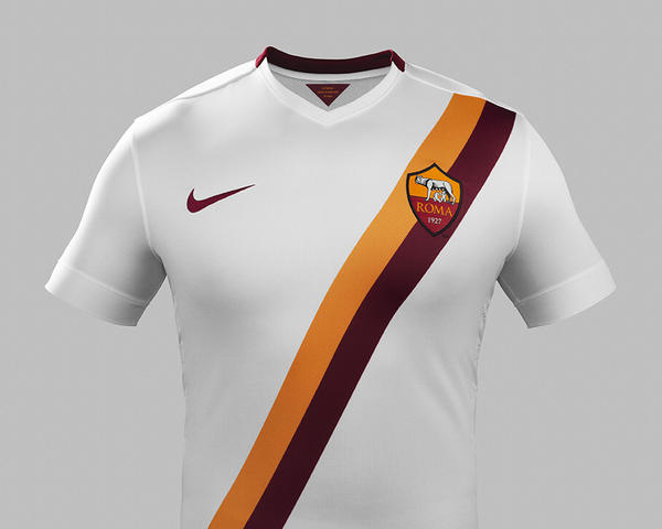 Nike and AS Roma Unveil New Away Kit for 2014-15 Season