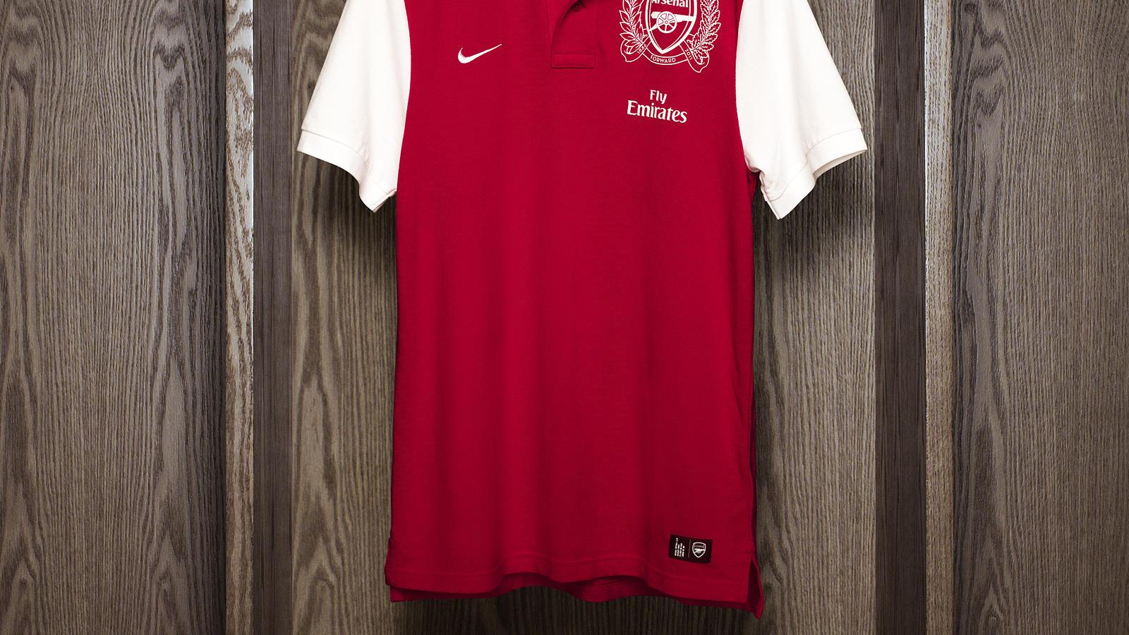 factory price cb2c7 d16ec Nike Unveils Arsenal FC 125th Anniversary Kit - Nike News