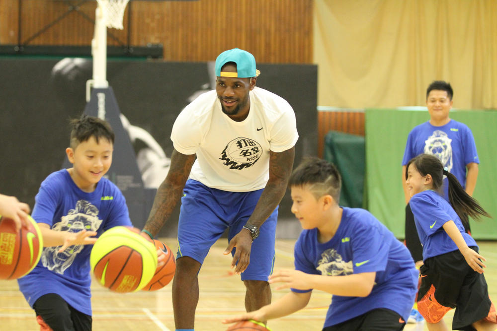 NIKE RISE BASKETBALL CAMPAIGN GETS UNDERWAY IN CHINA