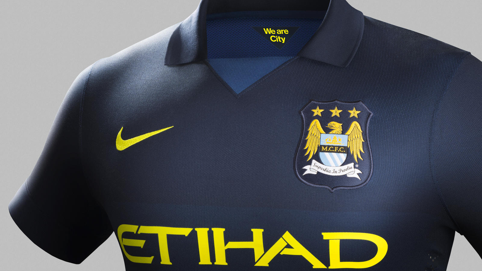 competitive price 42beb 1a379 Manchester City and Nike Unveil Away Kit for 2014-15 Season ...