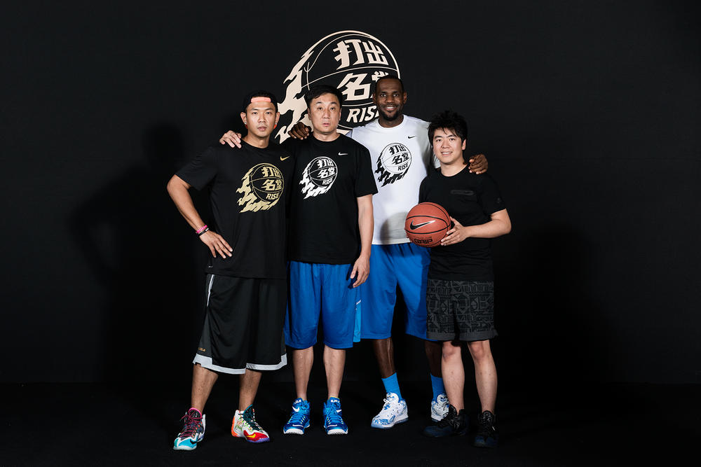 LeBron James Inspires Kids Across Greater China By Sharing His Own Rise Journey
