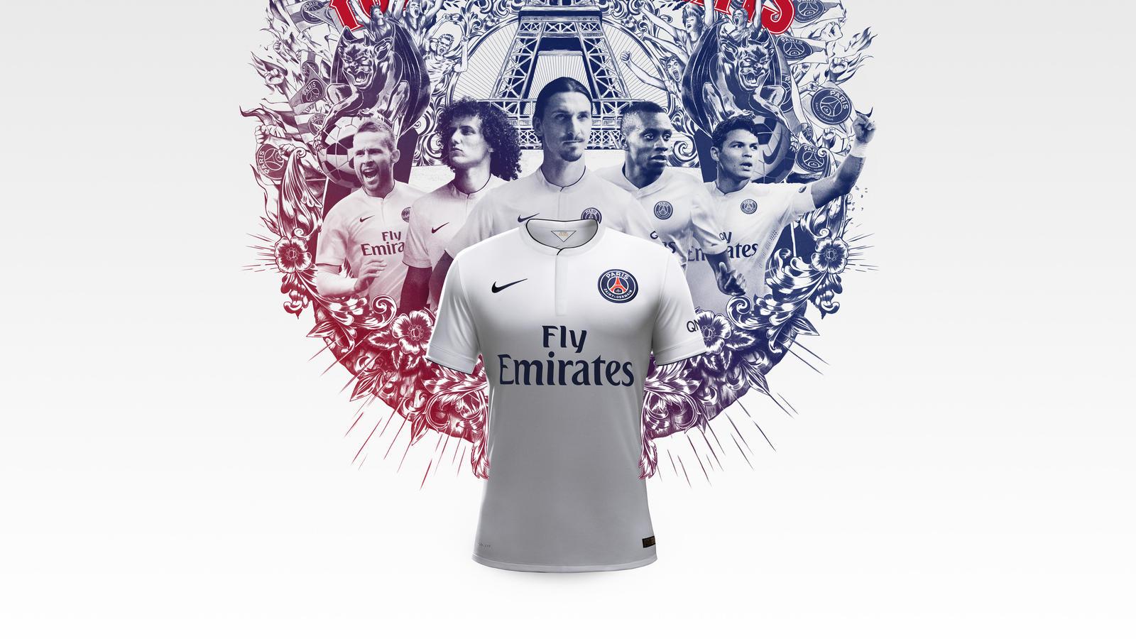 Gfb Club Kits Psg Hollow Shirt Group Illo Away F