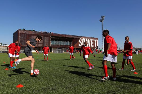 Nike Unveils Football Training Facility in Soweto