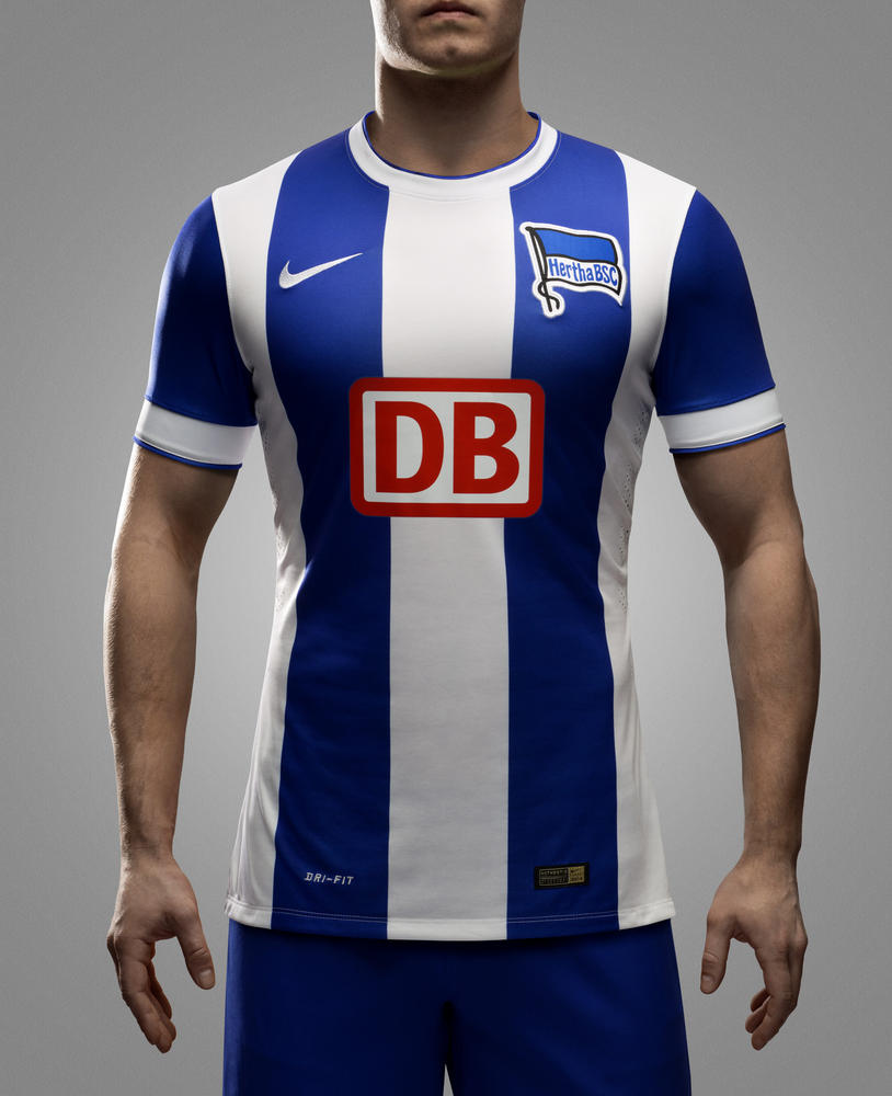 Nike and Hertha BSC Berlin Unveil New Home and Away Kits for 2014-15 Season