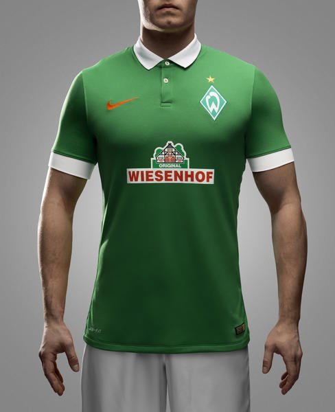 Nike and Werder Bremen Unveil New Home and Away Kit for 2014-15 Season