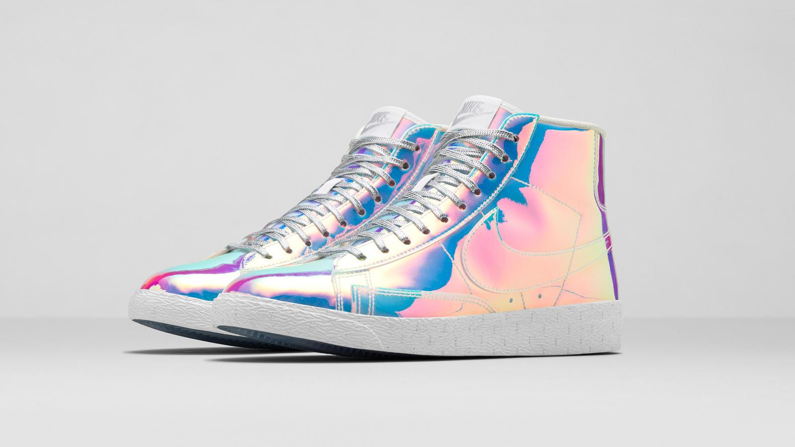 Aqua Blazer Haute Ton Nike