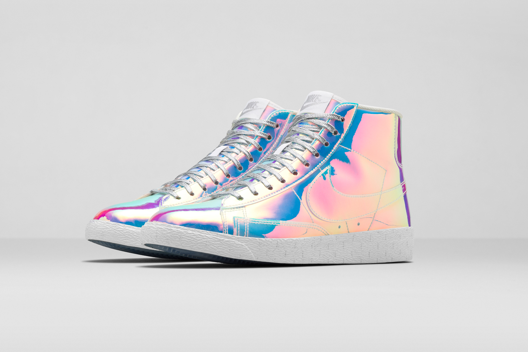 nike womens blazer mid holographic backpack