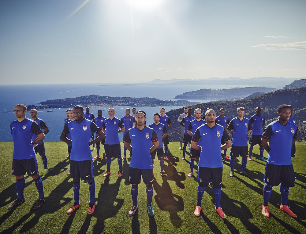 Nike and AS Monaco Unveil Stunning New Away Kit for 2014-15 Season