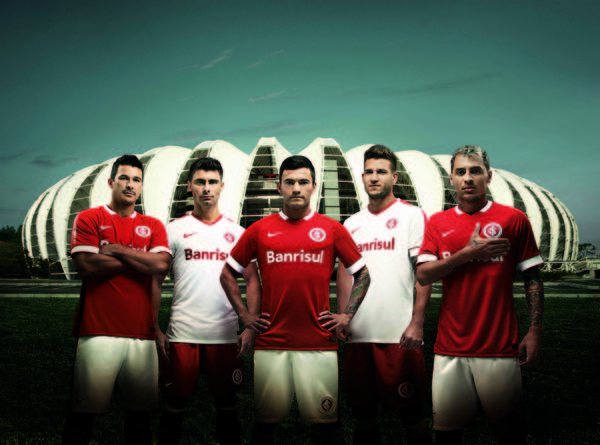Nike and Internacional Unveil New Home & Away Kits for 2014-15 Season
