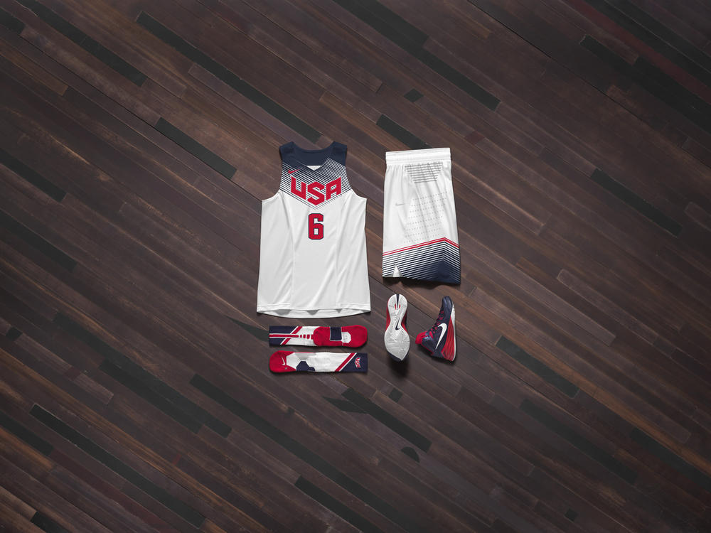 Nike Basketball Unveils USA Basketball Uniform