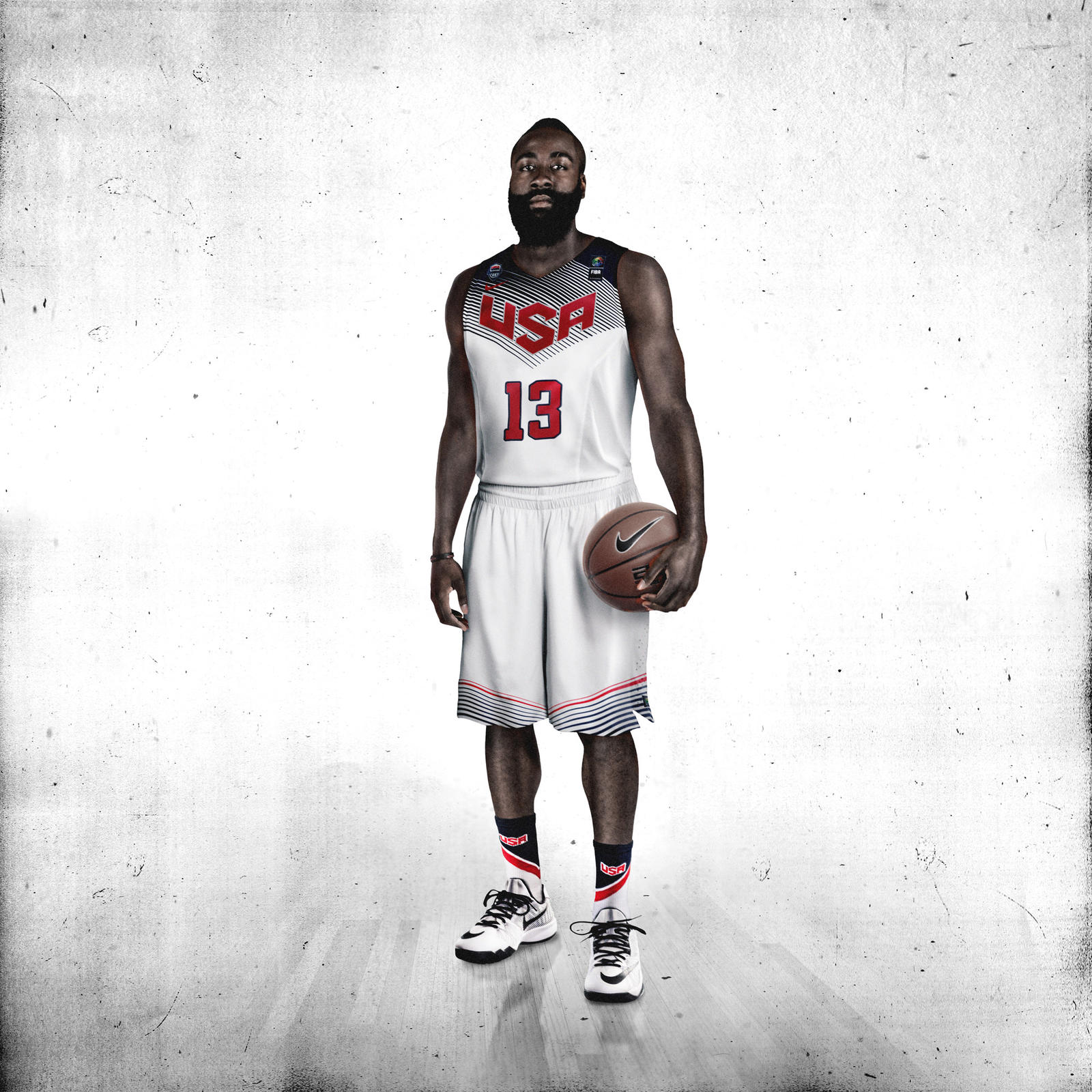 James Harden Quadruple Team: Nike Basketball Unveils USA Basketball Uniform