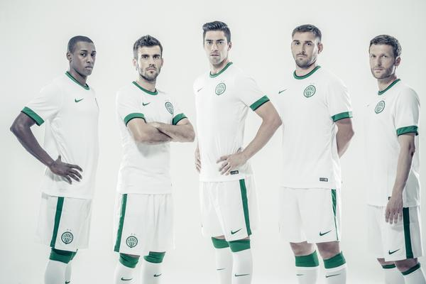 Ferencvaros and Nike Unveil Away Kit for 2014-15 Season
