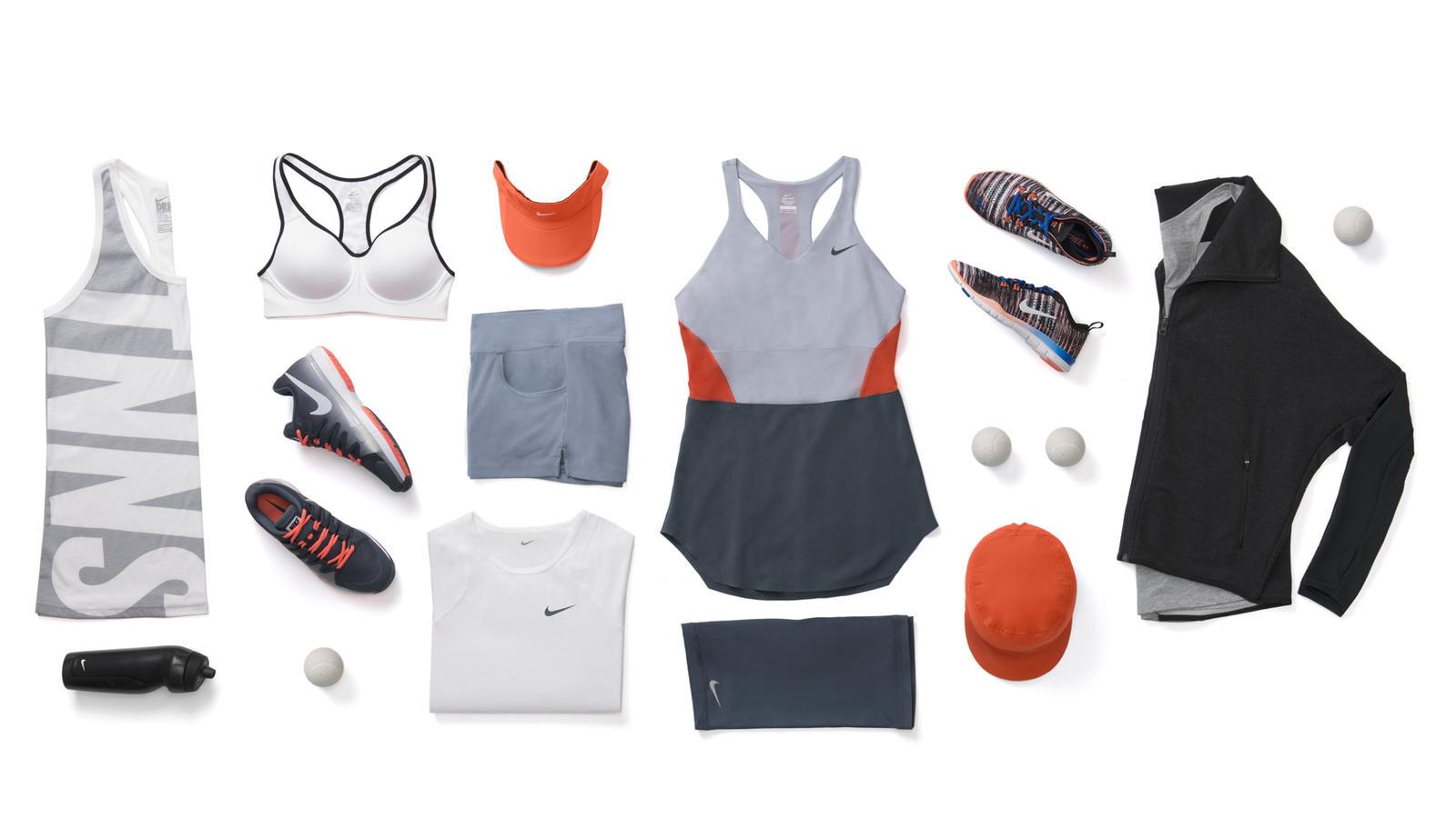 Maria Sharapova Nike Tennis Look - New York 2014