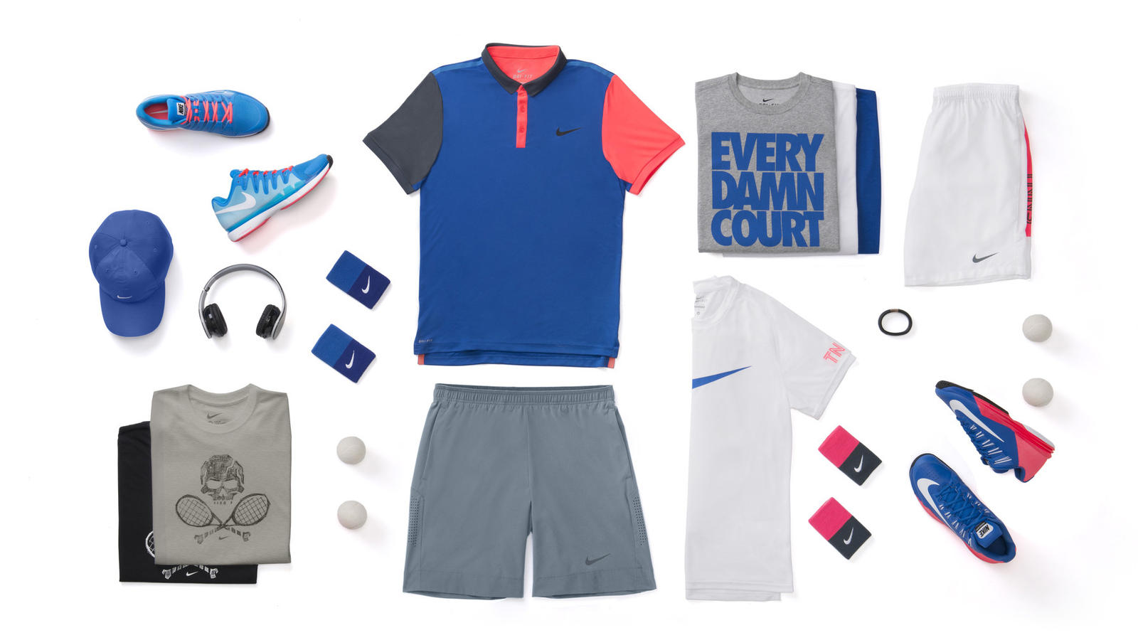 Grigor Dimitrov Nike Tennis Look - New York 2014