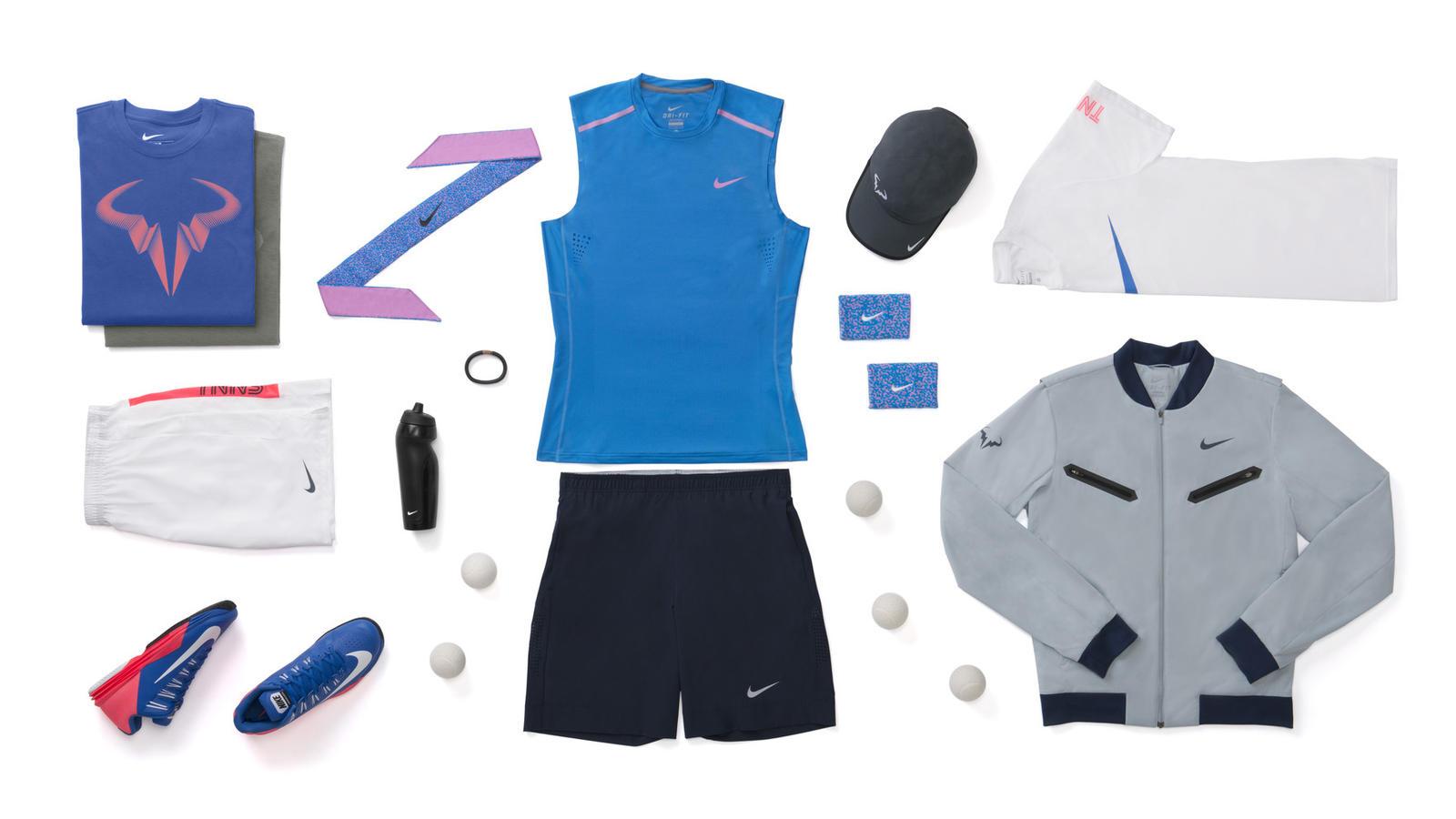 Rafael Nadal Nike Tennis Look - New York 2014