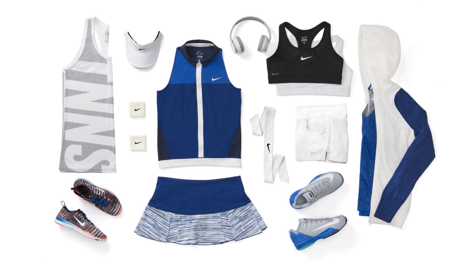 Victoria Azarenka Nike Tennis Look - New York 2014