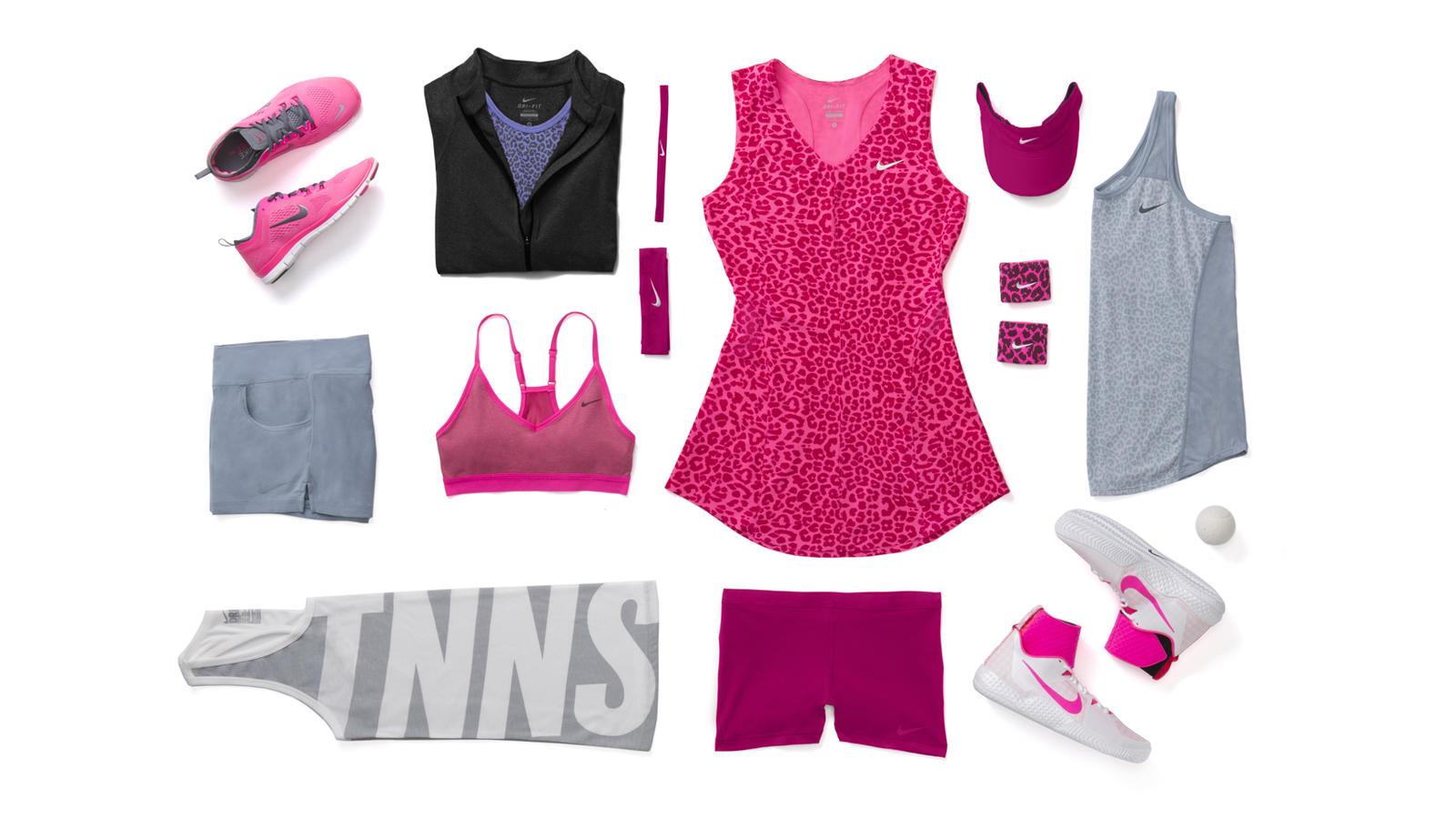 Serena Williams Nike Tennis Look - New York 2014