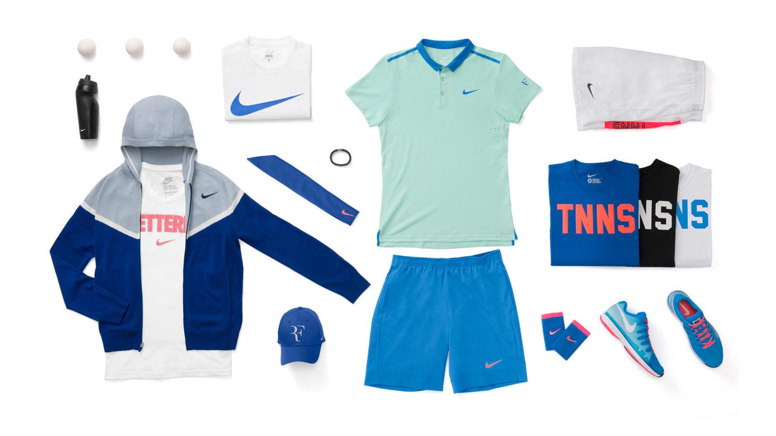 Roger Federer Nike Tennis Look - New York 2014