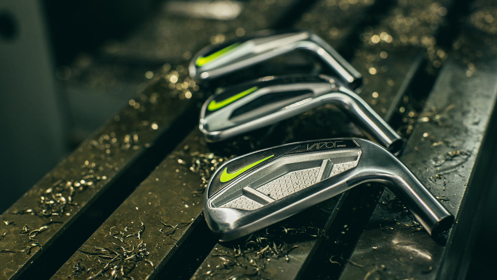 Nike Golf introduces the Vapor iron franchise.