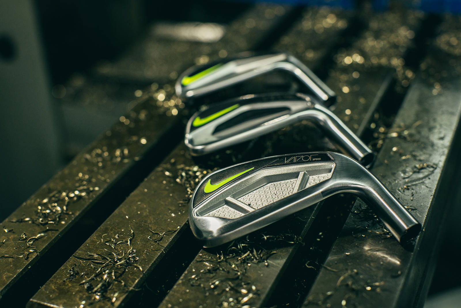 Nike Golf introduces the Vapor iron franchise.