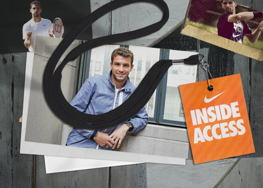 Inside Access: Grigor Dimitrov Holds Court With NikeCourt
