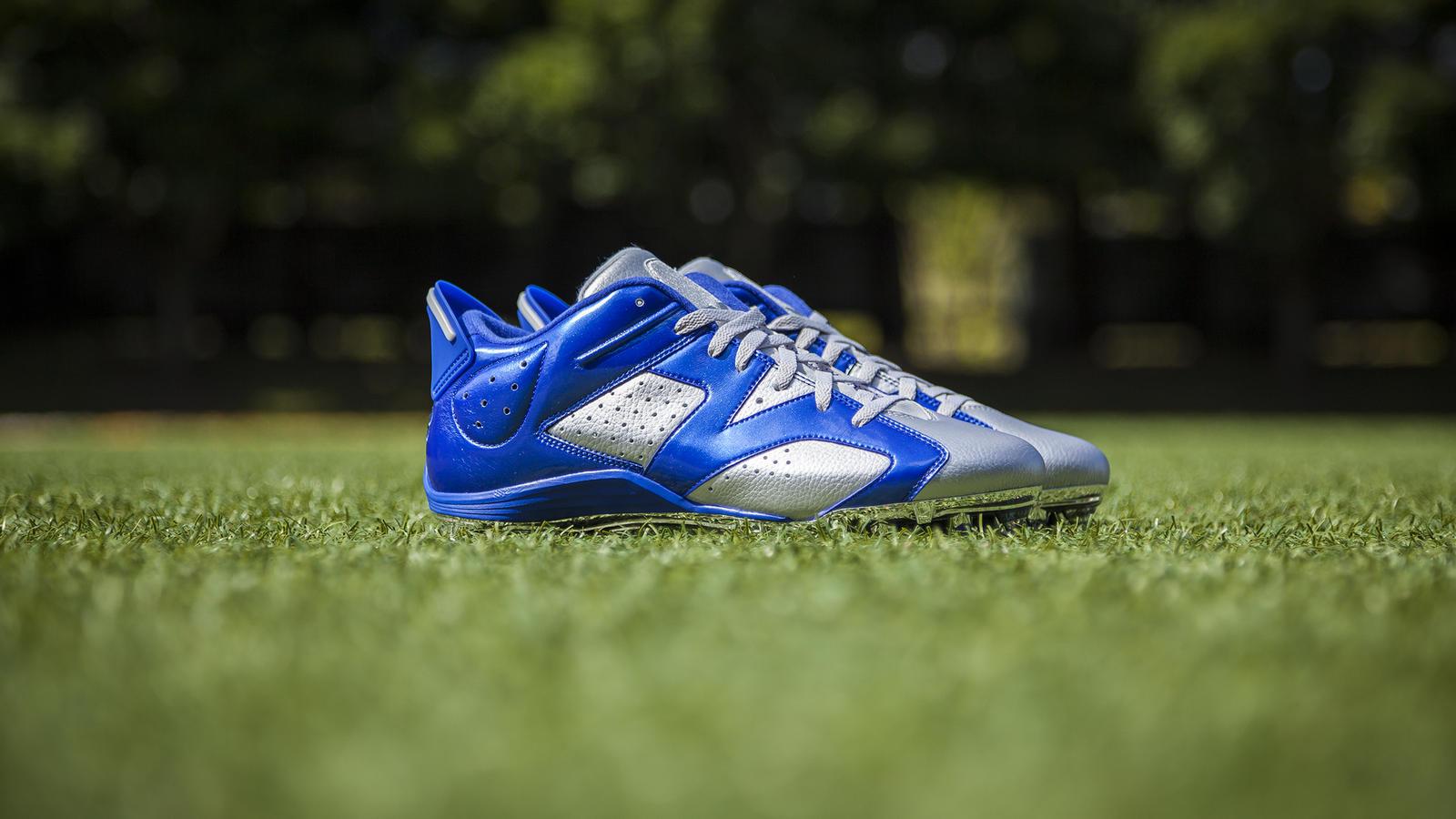 Jordan Brand Football Athletes Don Air Jordan Vi Cleats To