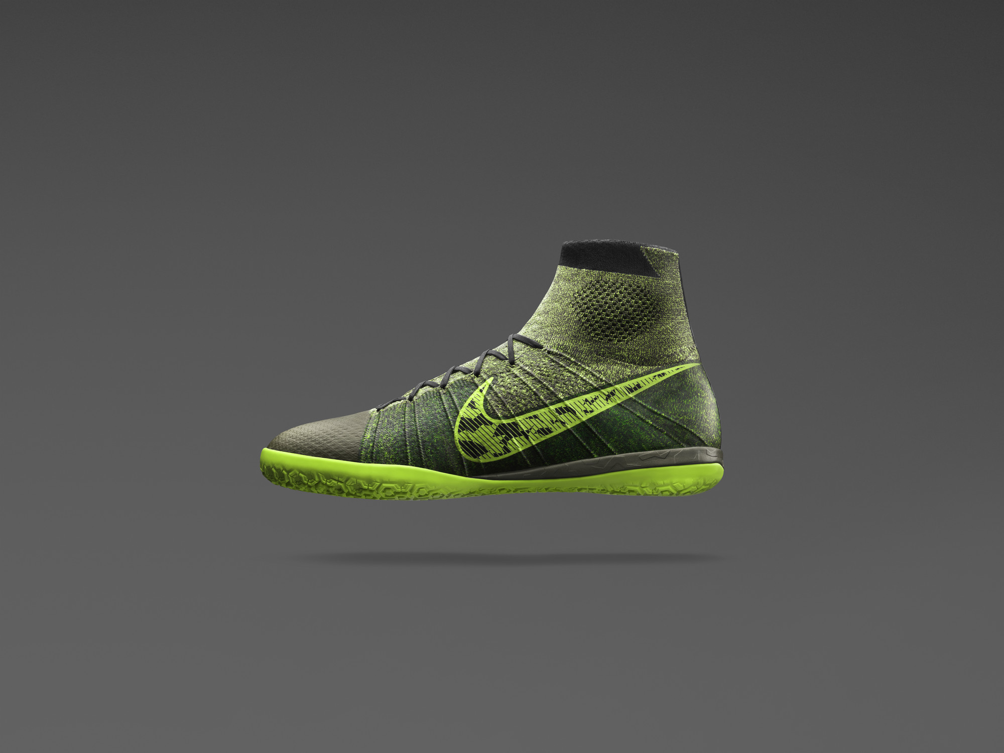 Nike Boys Camouflage Tennis Shoes
