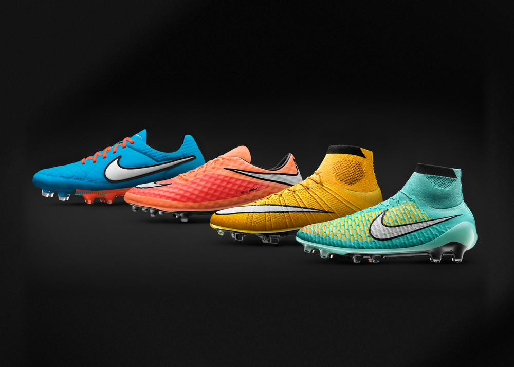 Nike Launches Striking New Colors For Its Boot Collection