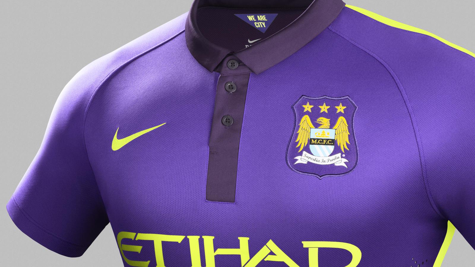 Manchester City Cup Away - Crest
