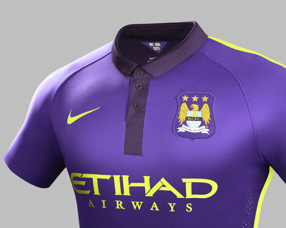 Nike and Manchester City Unveil New Cup Kit for 2014-15 Season
