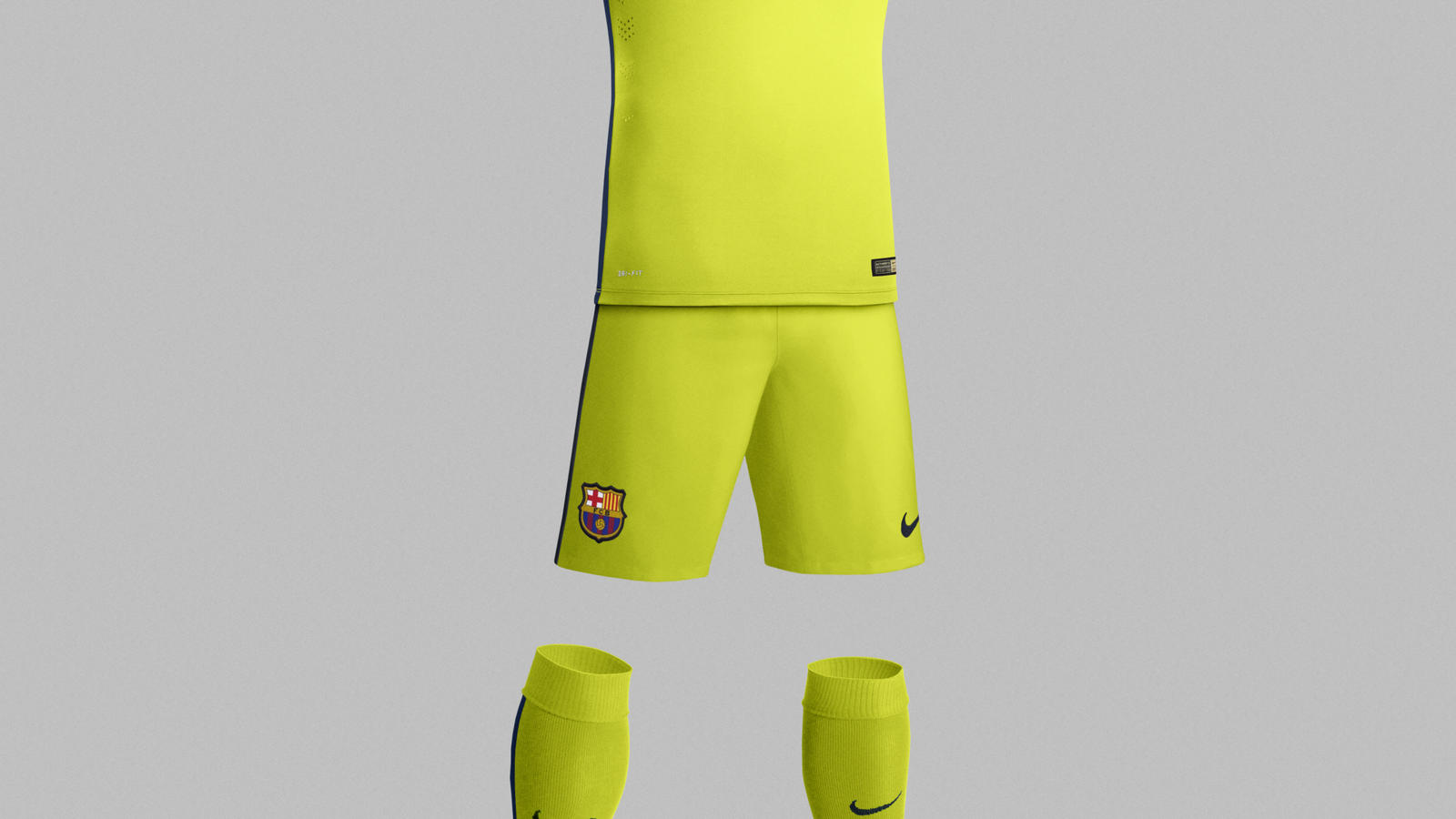 check out e4854 65b91 Nike and FC Barcelona Unveil New Third Kit for the 2014–15 ...