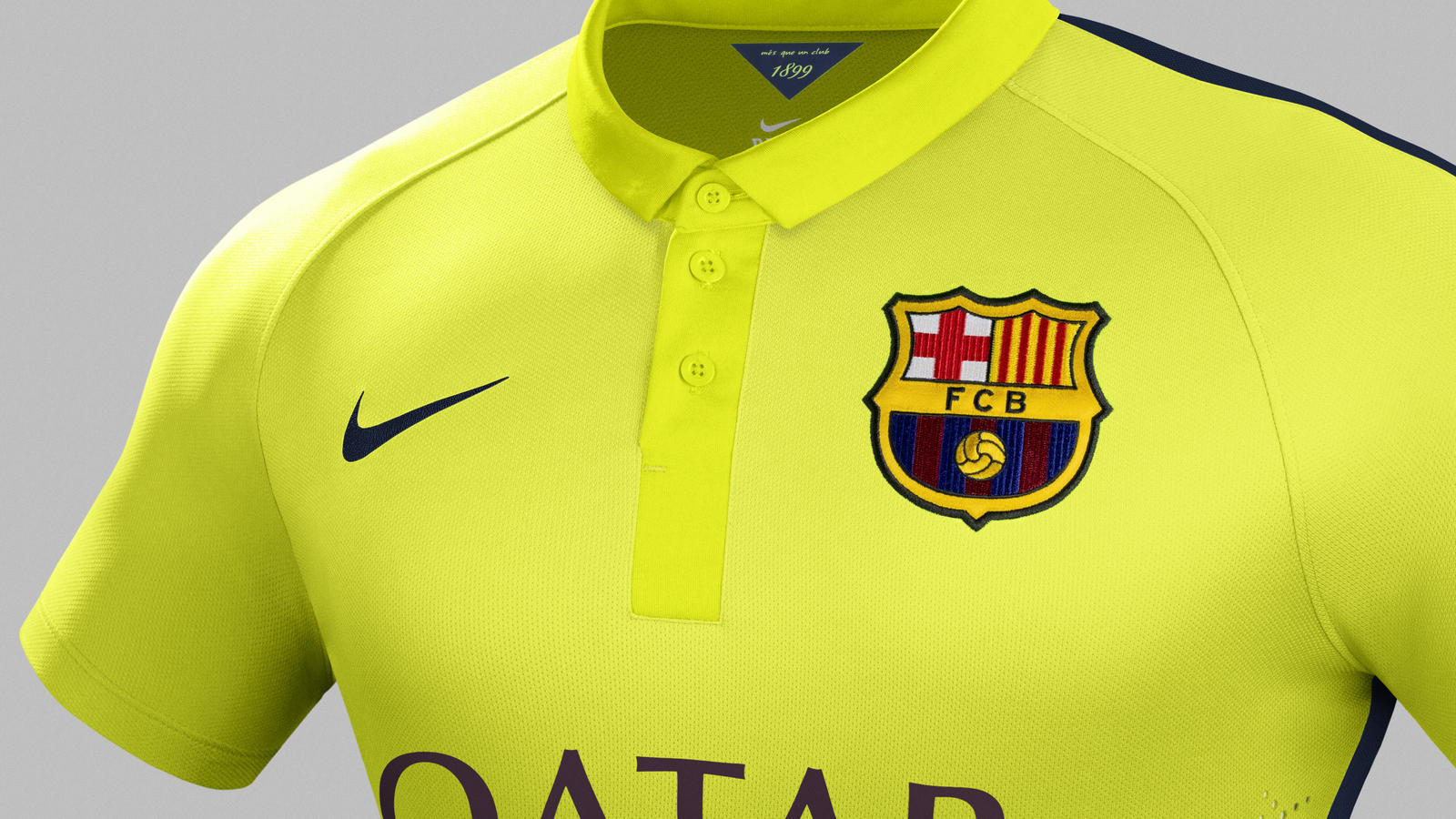 7a3896f13b4 Nike and FC Barcelona Unveil New Third Kit for the 2014–15 Season ...