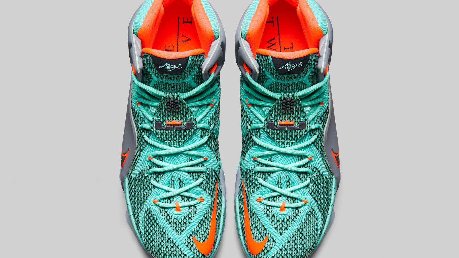 Nike LEBRON 12: Engineered for