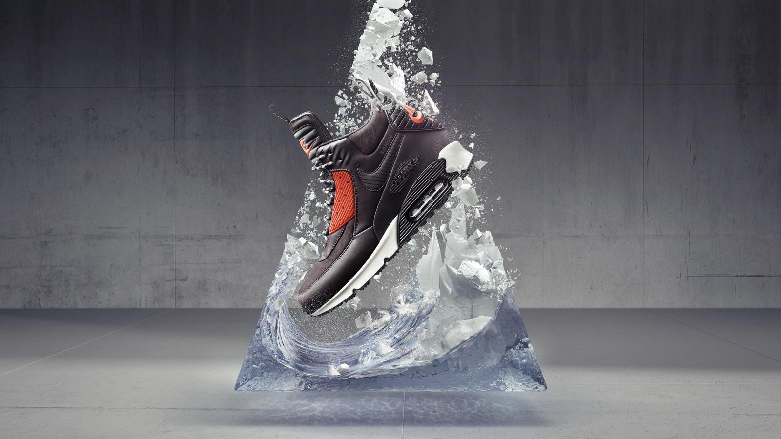Nike Air Max 90 Sneakerboot Winterized Waterproof Retail
