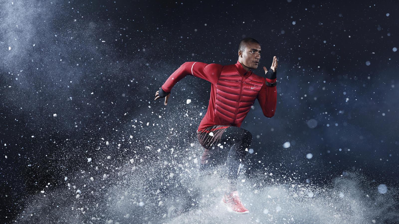 Nike Aeroloft Hybrid Jacket Mens
