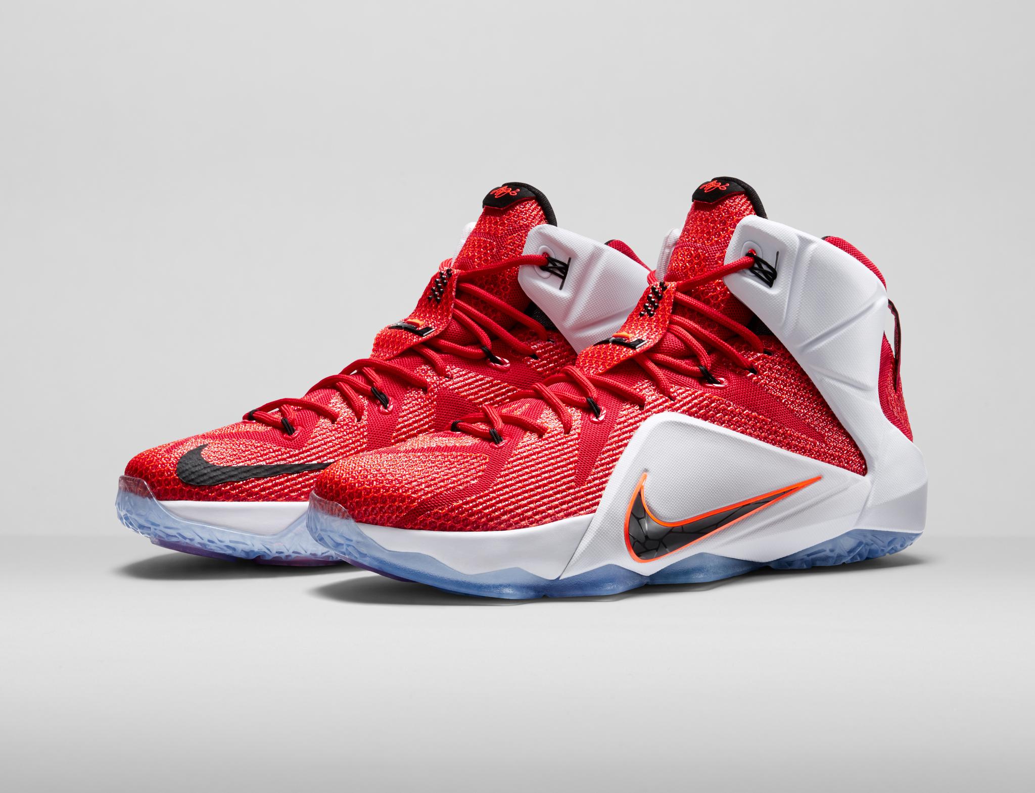 nike basketball shoes lebron 12