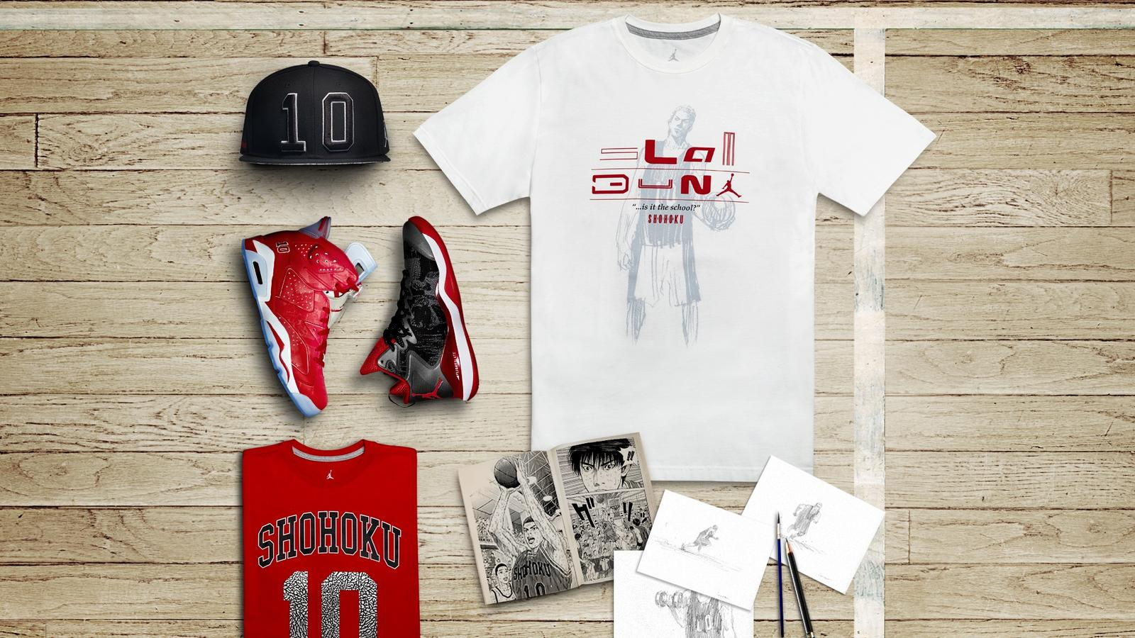 "df3283a8cbd1bd Inside Access  Jordan Brand Brings to Life Iconic ""Slam Dunk"" Comic ..."