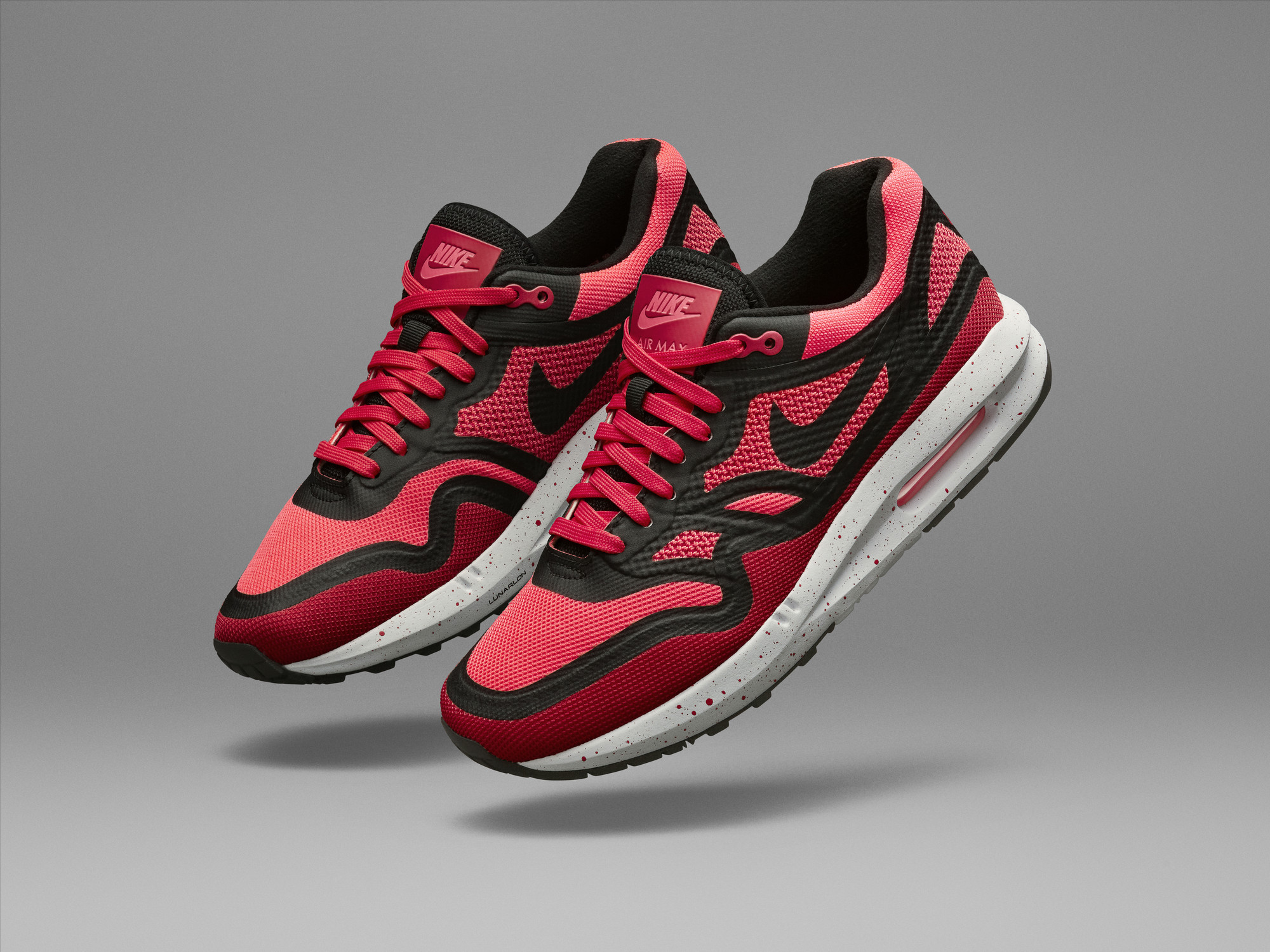 4579dfba5d ... nike air max woman lunarlon nike air max lunar 1 pink orange ...